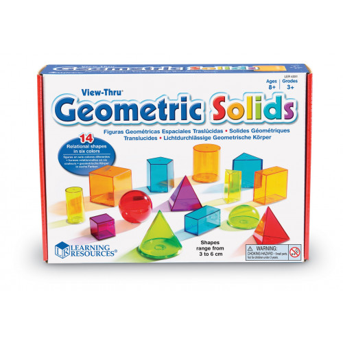 Learning Resources Viewi-Thru Gemetric Solids