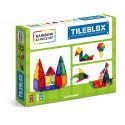 TileBlox Magnetic Construction Set (Rainbow 42 pce)