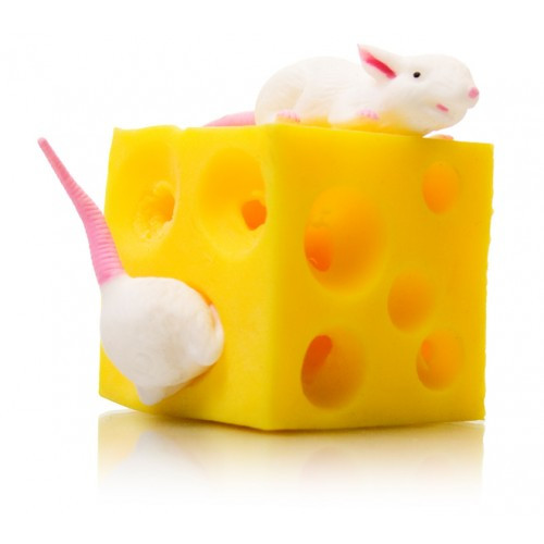 Stretching Mice with Chesse