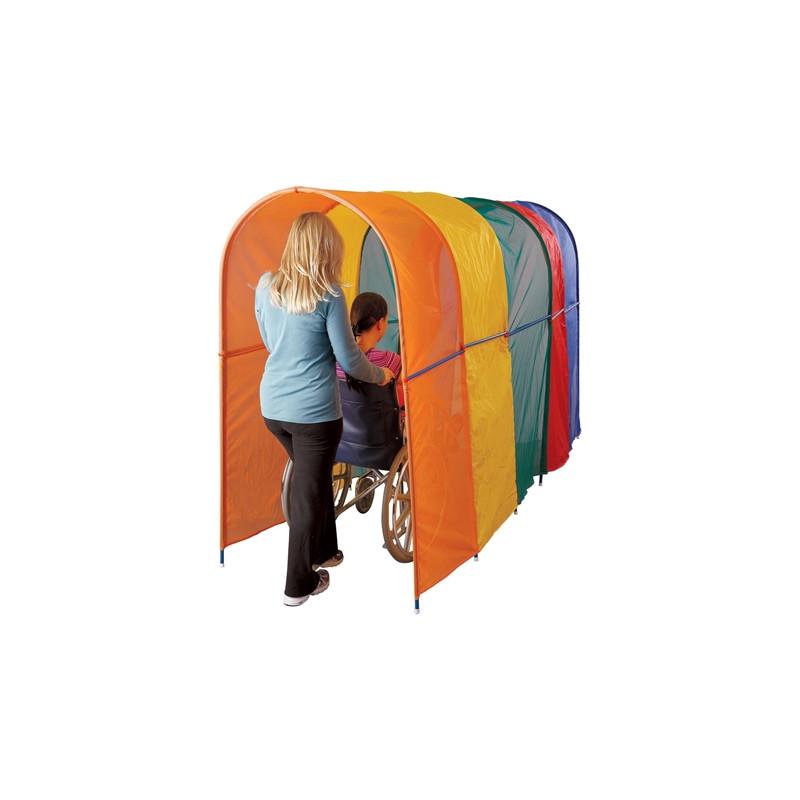 Wheelchair Rainbow Tunnel