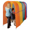 Wheelchair Rainbow Tunnel