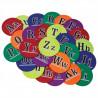 Alphabet Spot Markers