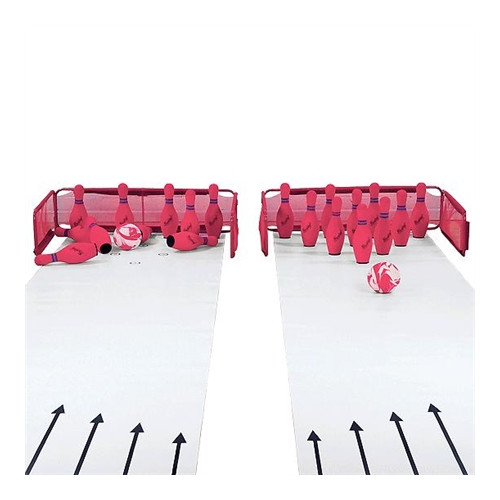 Two Lane Foam Bowling Set