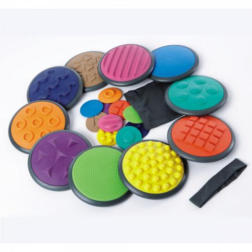 Gonge Tactile Discs (Set of 10)