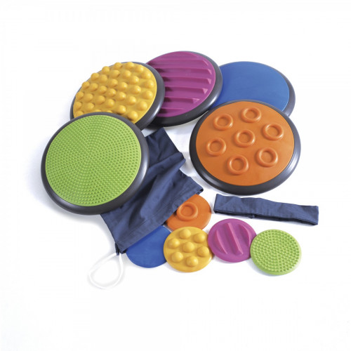 Tactile Discs, Set/5 - Beginner Patterns (Approx. $93 USD)