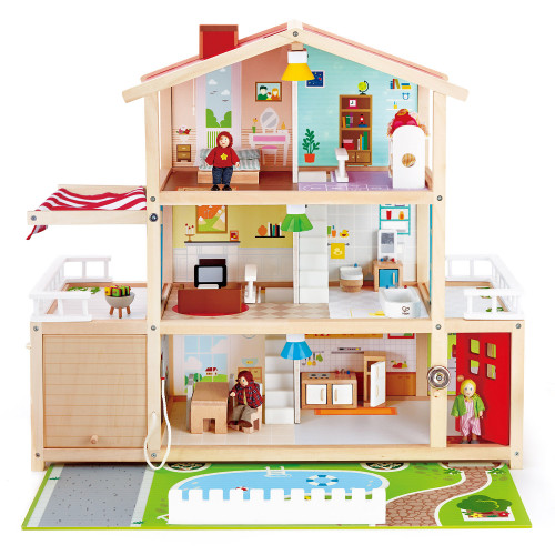 Hape Dollhouse Family Mansion