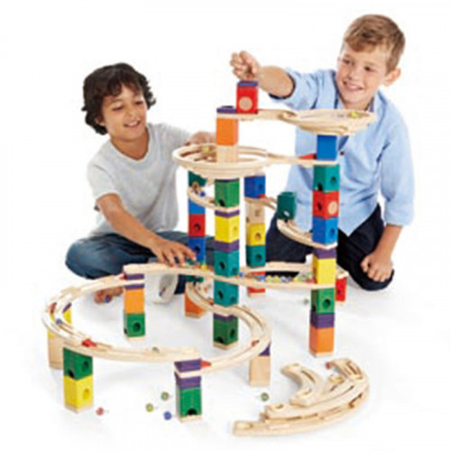 The Quadrilla Cyclone Marble Run (Approx. $190 USD)