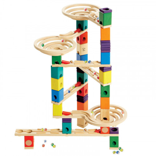 The Quadrilla Vertigo Marble Run (Approximate. $144 USD)