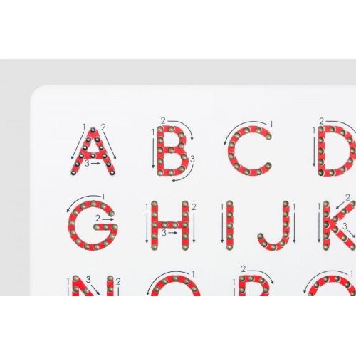 Alphabet A-Z Magnatab (Upper Case) Magnetic