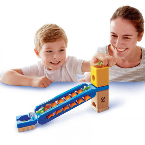 Quadrillia Sonic Playground Marble Run