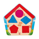 Wooden Who's in the house Puzzle
