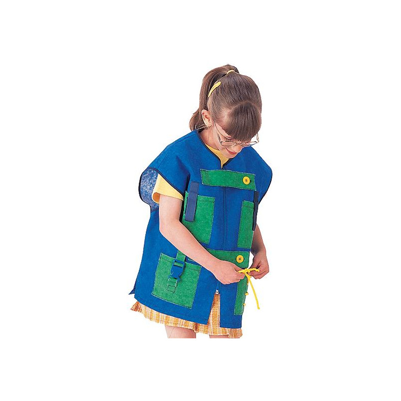 Tactile Dressing Skills Vests - Child