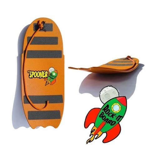 Rock-it Spooner Board 24 inch with rope (Orange)