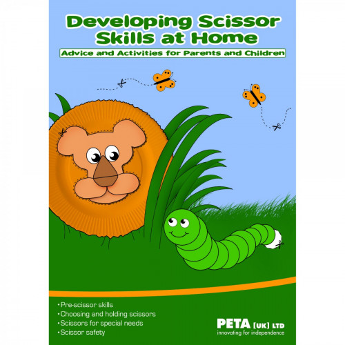Developing Basic Scissor Skills At Home Booklet