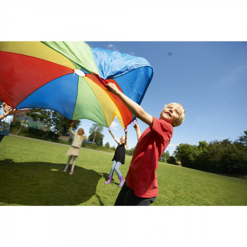Gonge Rainbow Parachute with Handles (12 feet)