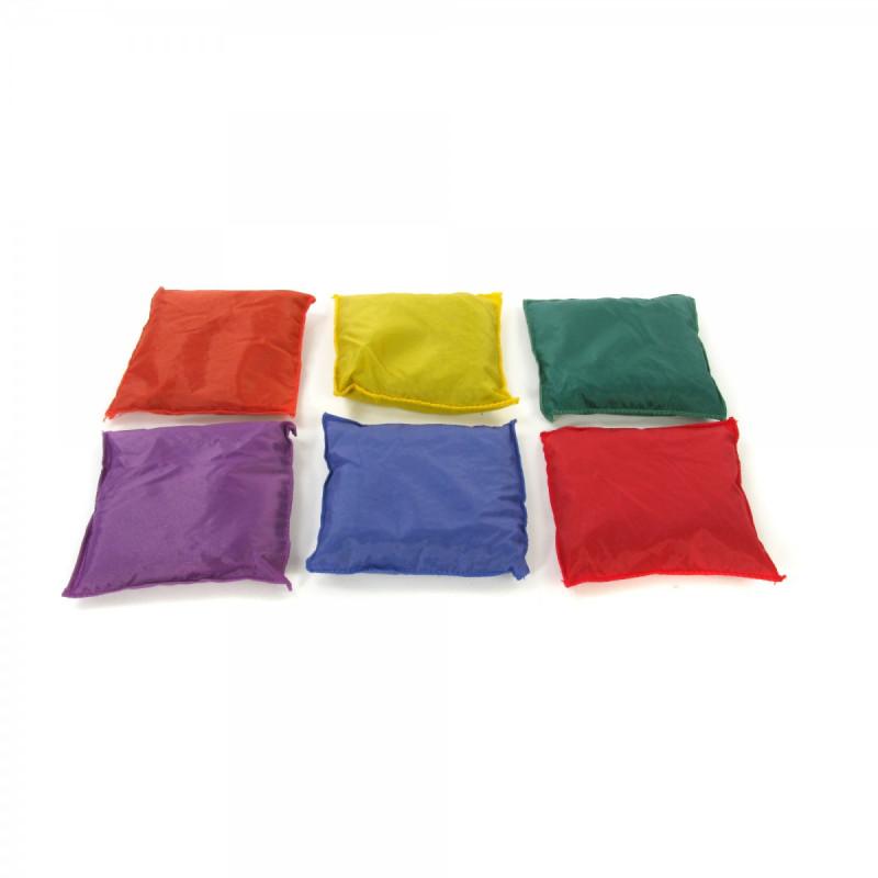 "Nylon Covered Bean Bags (5"")"