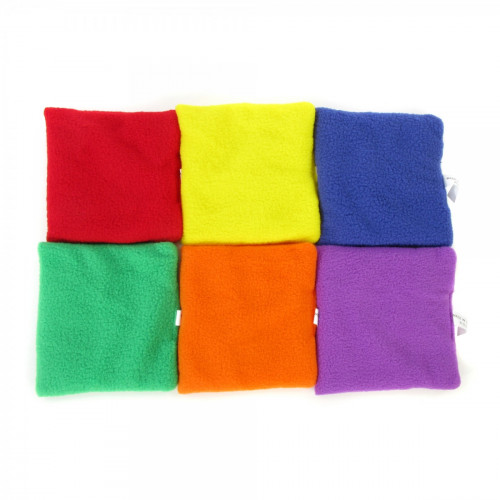"Square Bean bags Fleece (5"")"