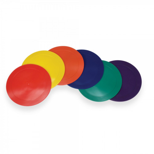Colorful Ground Spot Markers (Round Set/6)