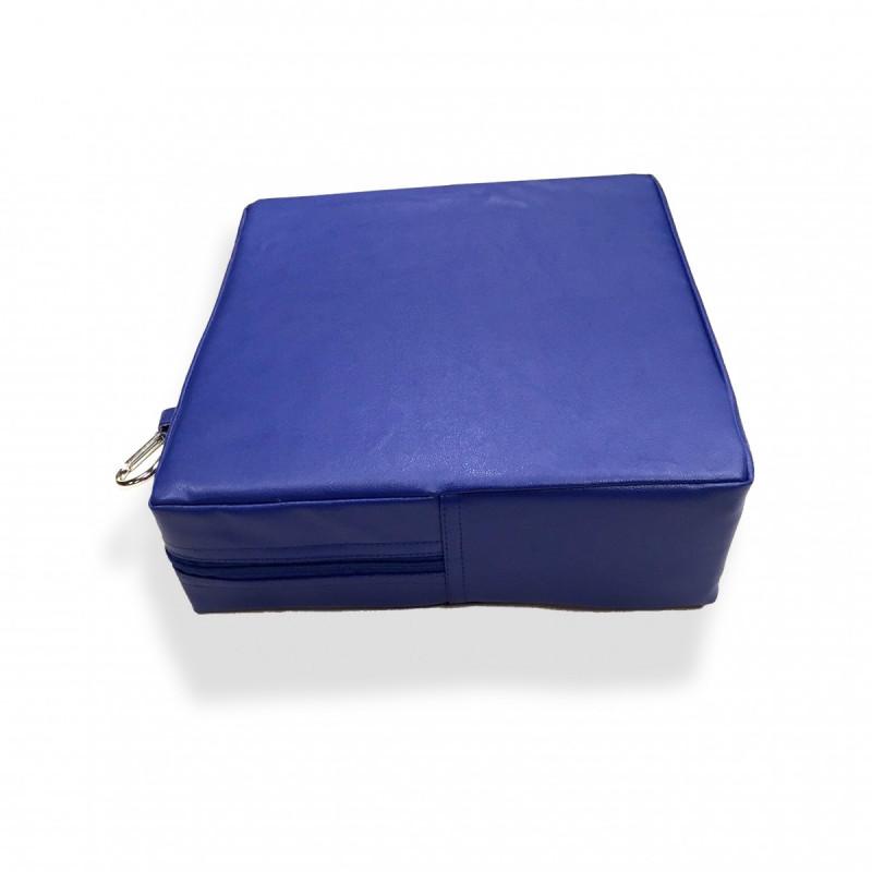Senseez Vibrating Sensory Cushion - Blue Square