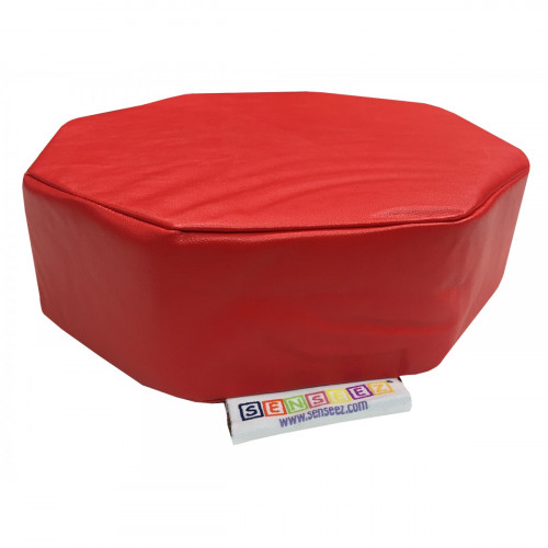 Senseez Vibrating Sensory Cushion - Red Octagon