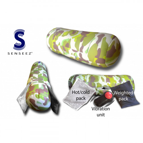 Senseez 3 in 1 Therapeutic Sensory Pillow - Camo Adaptables