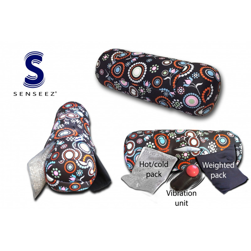 Senseez 3 in 1 Therapeutic Sensory Pillow - Flower Adaptables