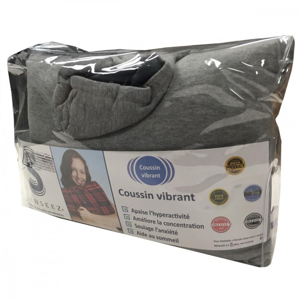 Senseez Vibrating Sensory Pillow Hooded Trendables