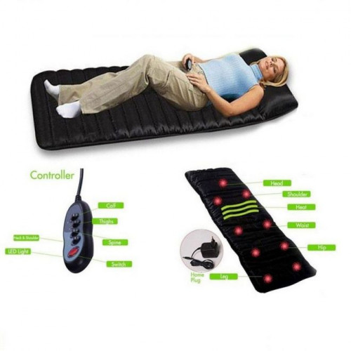 Full Body Massage Mat with Infrared Heat