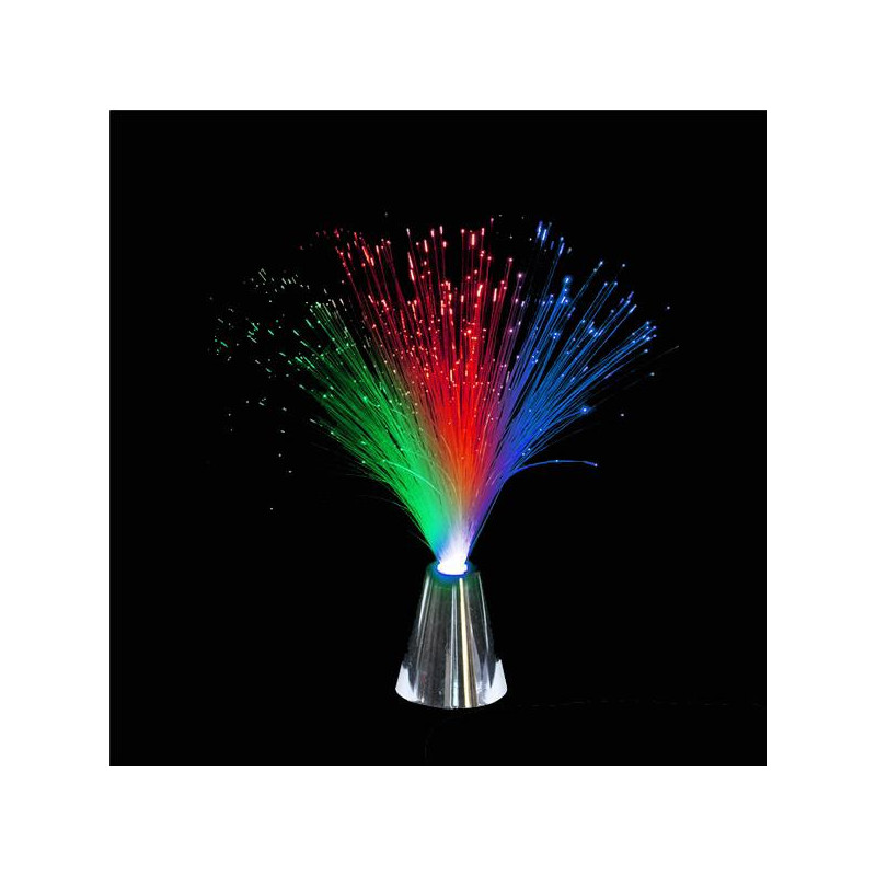 "Rainbow Fiber Optic Lamp (14"")"