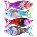 "14"" Sequin Fish Pillow"