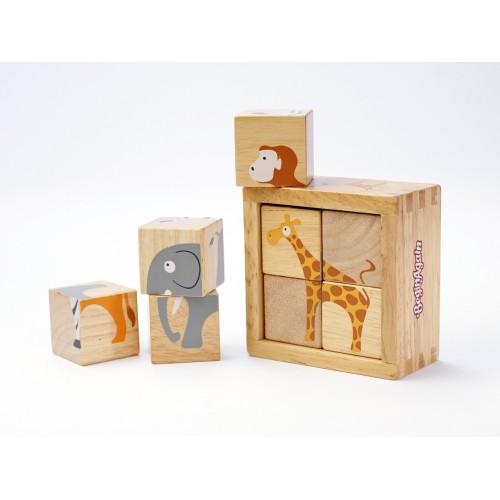 Buddy Blocks - Safari Cube Animals