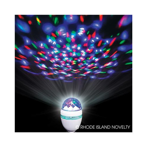 LED Disco Rotating Bulb