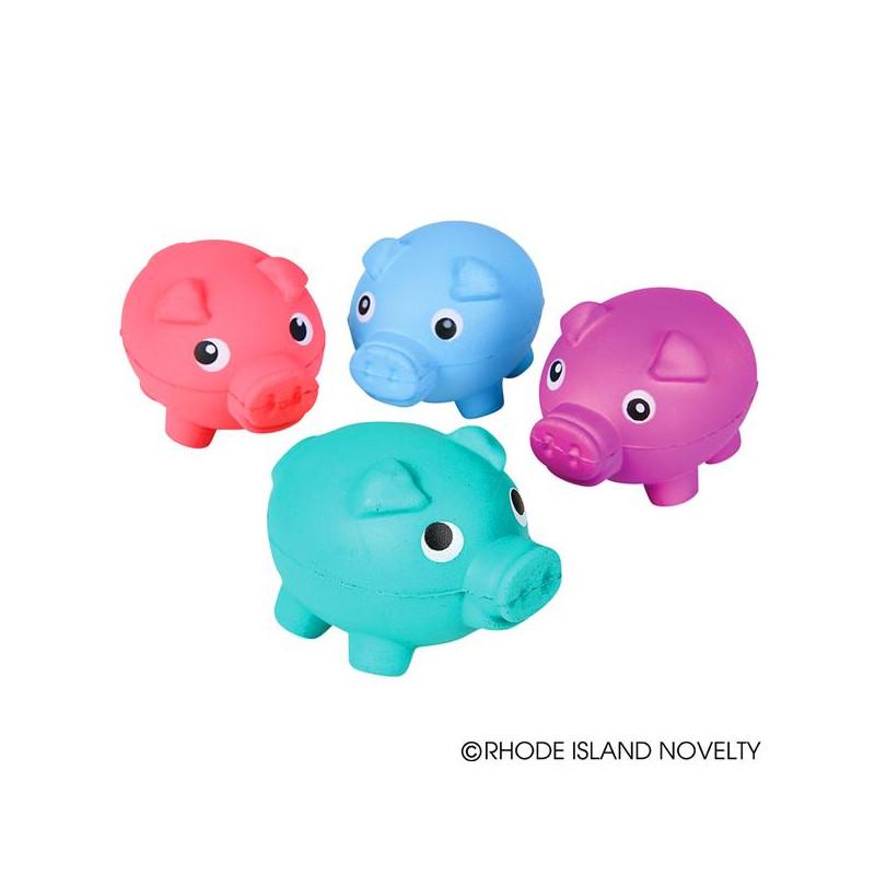 """3.25"""" Squish Pig Fidget Squeezeables"""