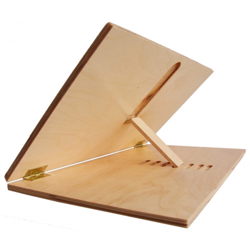 "Adjustable Wooden Slant Easel Board (9"" x 12"")"