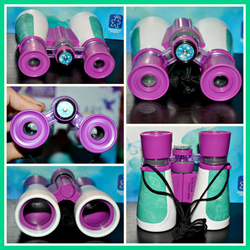 Educational Insights Nancy B's Science Club Binoculars & Wildlife Activity Journal