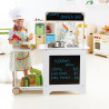 Cook n' Serve Wooden Kitchen Play Set