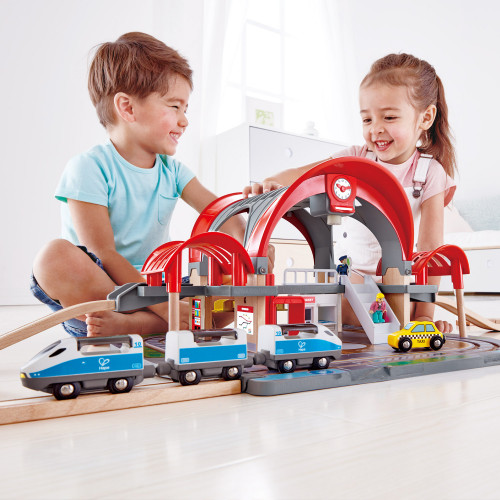 Grand City Rail Station Playset