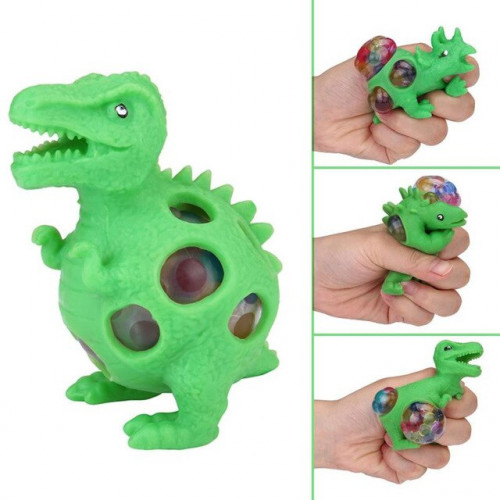 Mesh Squishy Dino Ball