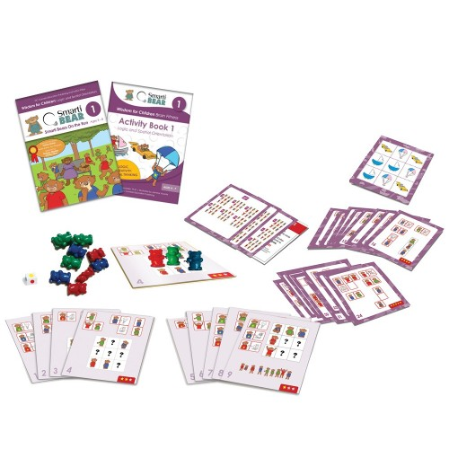 Smarti Bears Brain Fitness Kit 1: Logic and Spatial Orientation