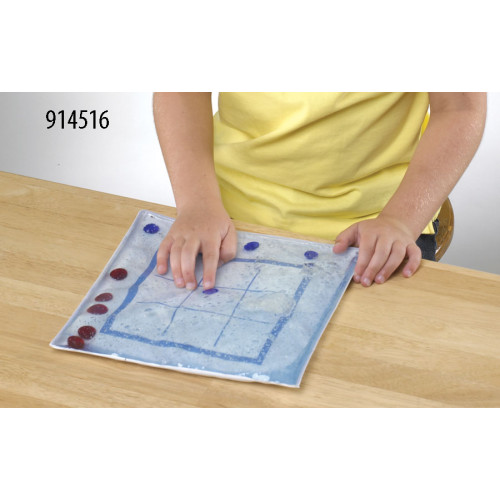 Tic-Tac-Toe Gel Pad