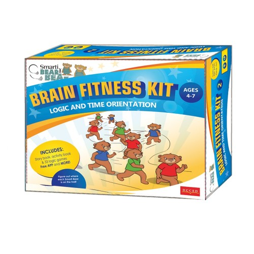 Smarti Bears Brain Fitness Kit 2: Time Orientation & Logic Multilingual Game Set