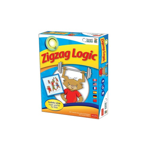 Smarti Bears Zigzag Logic  Multilingual Game