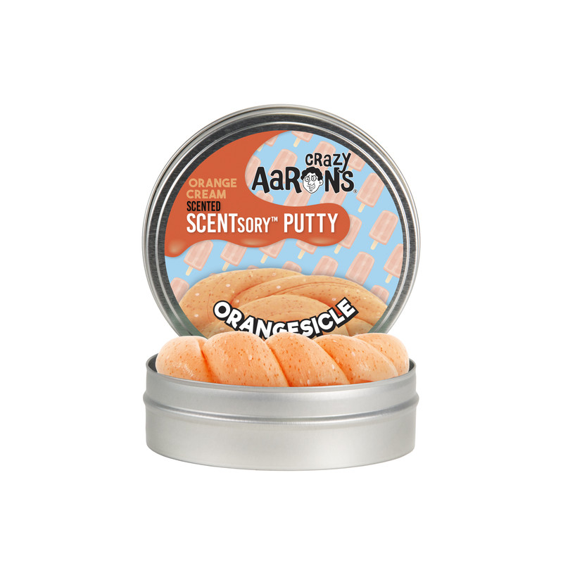 Crazy Aaron's Putty Scented Orangesicle