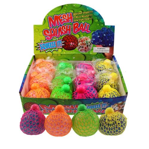 Large Glitter Neon Mesh Ball