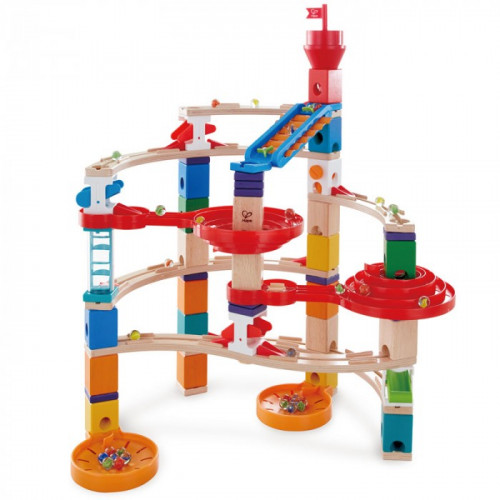 Hape Quadrilla Super Spirals Marble Run