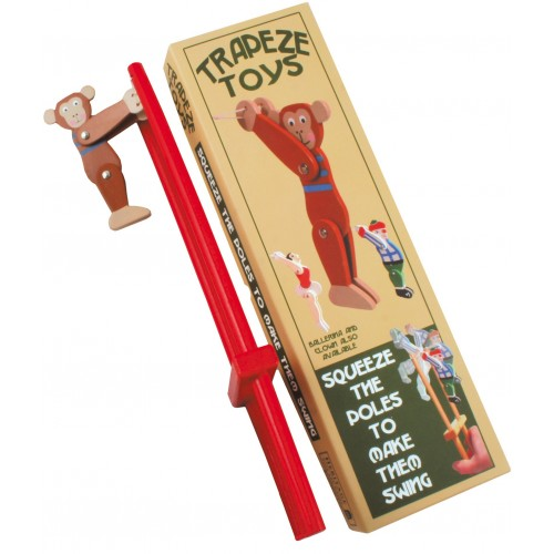Trapeze Monkey Wooden Toy (for hand strengthening)