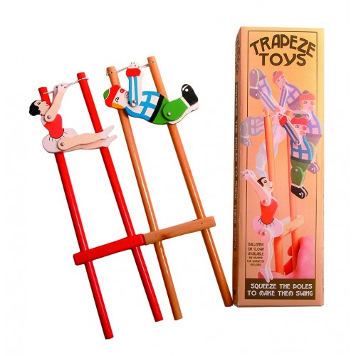 Trapeze Ballerina Wooden Toy (for hand strengthening)