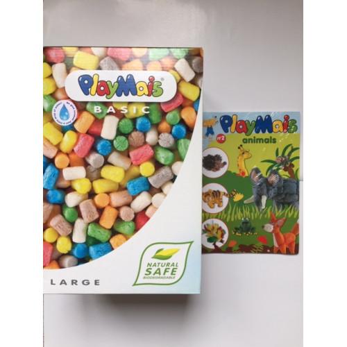 PlayMais Large Combo (700 pcs) & 24 Animal 3D Instruction Book