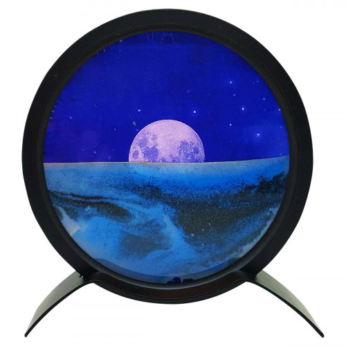 Zen Sands Moon With Mirror