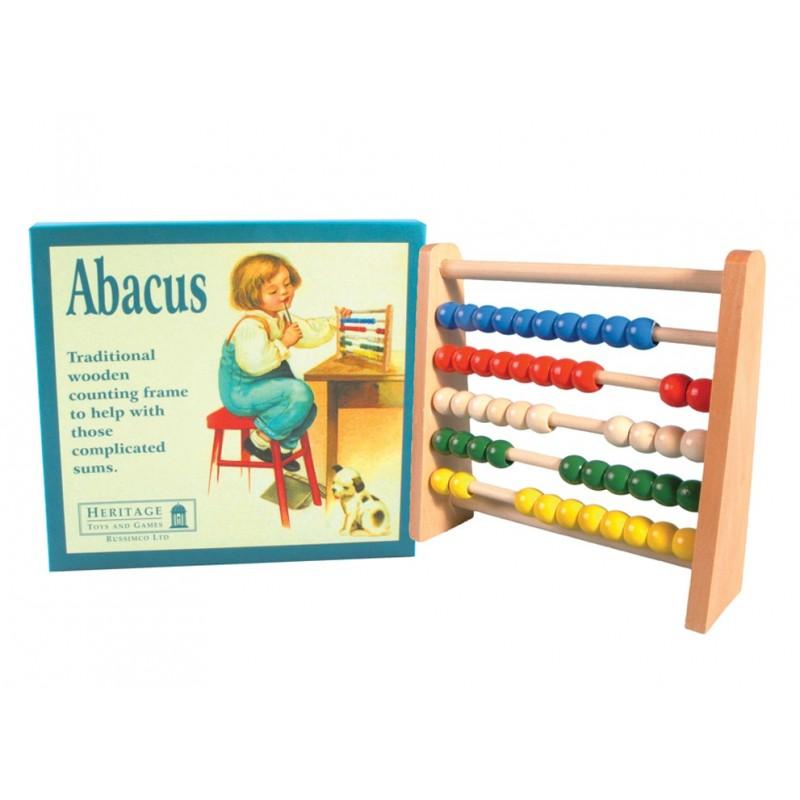 Sturdy Wood Abacus